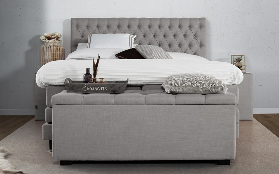 Caresse Boxspring Platinum 9850 Vlak